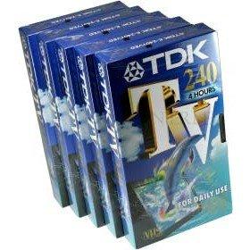 TDK VHS-Kassette M 240, 240 min, 5er-Pack