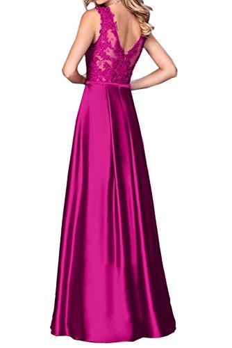 Ivydressing -  Vestito  - linea ad a - Donna Fuchsie