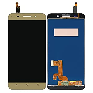 PREVOA ® ? Honor 4X - LCD Display Touchscreen Bildschirm Komplettset LCD Lens Touch Screen LCD Display Digitizer Assembly Replacement - Gold