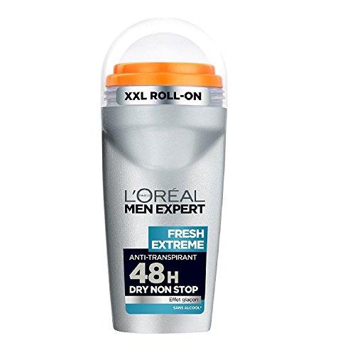 L'Oréal Men Expert Fresh Extrême Déodorant Bille Homme Sans Alcool Lot de 3 L'Oréal Men Expert