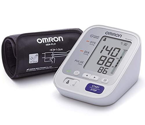 OMRON M3 Comfort - Tensiómetro de brazo, tecnología Intelli.