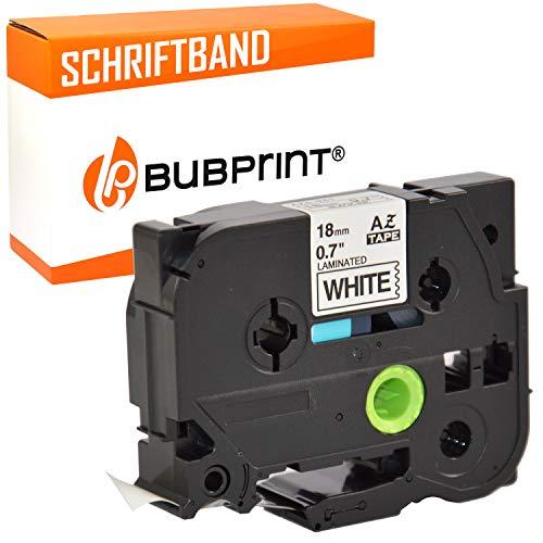 Bubprint nastro a cassetta compatibile per Brother TZE 241 TZ 241 e per P-Touch 1000 1750 1800 1850 2400 2450 2460 2470 300 P700 P750W H500 D800 E550W