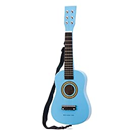 New Classic Toys Guitar-Blue, Colore, 10342