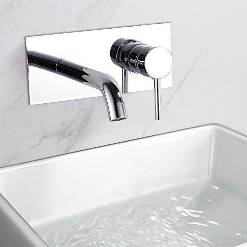 Robinet mural ou encastrable pas cher de lavabo | Mon Robinet