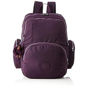 41Y%2B8ZkGcWL. SS300  - Kipling Courtney Mochila Tipo Casual, 42 cm, 26 litros, Morado (Plum Purple)
