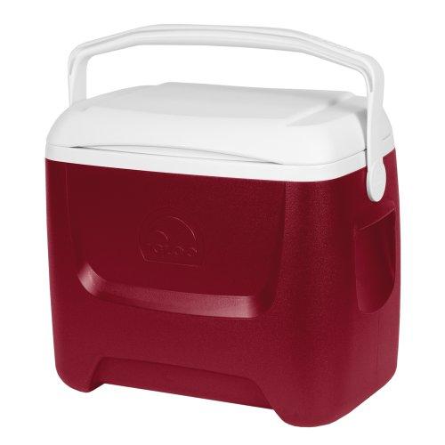 Igloo nevera portátil helados Island Breeze 28 QT rojo 26 litros