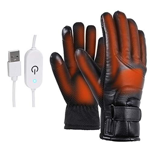 Bestvery - Guanti Termici per Touch Screen, Antivento, Invernali, per Sci, Moto, Escursionismo, Caccia, 0536S2WDH15UY, B
