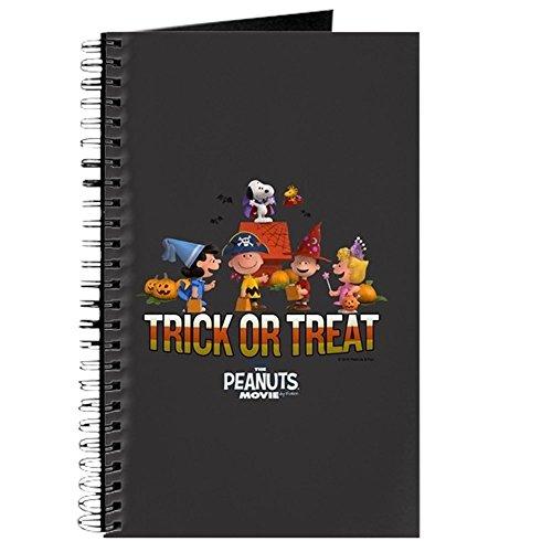 CafePress - The Peanuts Movie - Trick Or Treat - Spiralgebundenes Tagebuch, persönliches Tagebuch, liniert (Liste Halloween-filme Die Besten)