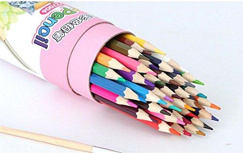 BrillantFarben Wachsmalstifte Buntstifte Set mit 36 Kunst-Bleistifte mit verschiedenen Farben zum Zeichnen, Buntstifte, Skizzieren deal für alle Kinder Schulen Kinderzimmer Restaura