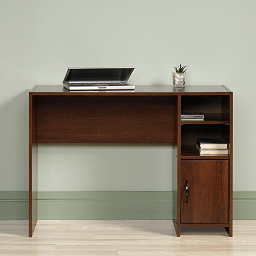 a-small-computer-desk-in-wood-cherry-finish-makes-great-work-desks-for-small-spaces-like-home-office