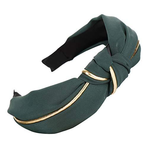 Stirnbänder Breit Haarbänder Bogen Knoten Haarband Frauen Haar Kopfband Einfache Süße Mädchen Haar Stirnband Haarschmuck ()
