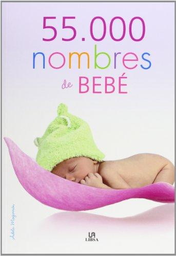 Portada del libro 55.000 Nombres De Bebé (Mucho Más)