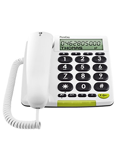 Doro PhoneEasy 312cs Schnurgebundenes Großtastentelefon mit großem Display