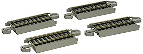 Bachmann Trains Snap-Fit E-Z Track 3 Straight Track (4/card) by Bachmann Trains