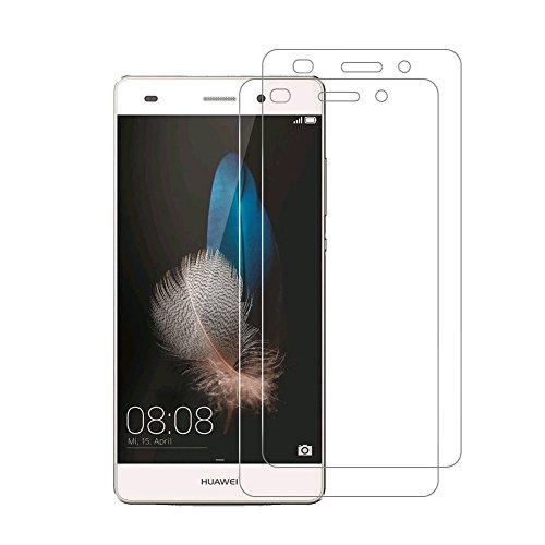 [2-Pack] Huawei P8 Lite Cristal Templado, Nazzamo Huawei P8 Lite Templado Vidrio...