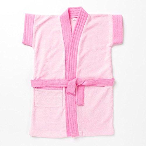 Pebbles Baby Light Pink Bath Robe