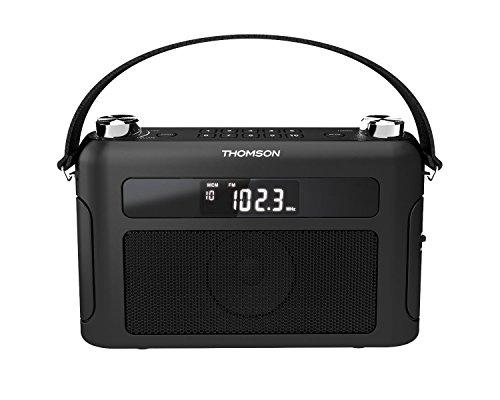 Radio portátil sintonizador digital Thomson RT440