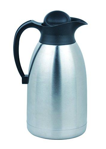 Thermokanne XXL 2 Liter doppelwandiger Edelstahl Thermoflasche 2L isolierkanne 2L