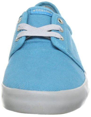 Dekline 602623, Chaussures de skateboard mixte adulte Turquoise (Turquoise-Grey)