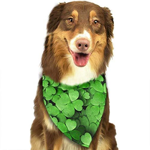 Hipiyoled St Patricks Day Mix Colour Pet Bandana Multifunctional Headwear