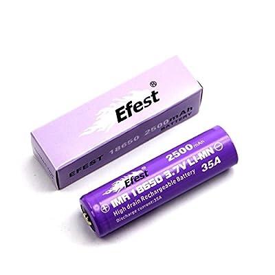 Efest Purple IMR 35A Entladestrom 18650 2500mAh Flat-Top von Efest