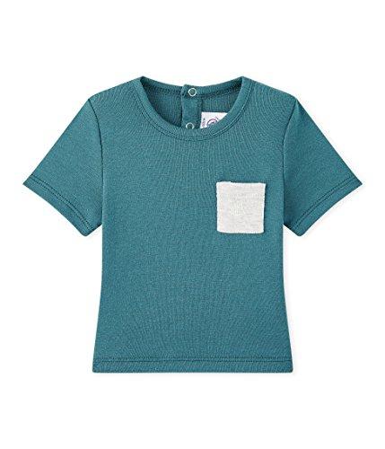 Petit Bateau Baby-Jungen T-Shirt Tee MC 28806, Grün (Olivier 08) 80 (Herstellergröße: 12m/74cm)