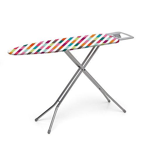 Rayen 6133 - Mesa de planchar, 113 x 34 cm, diseño rayas