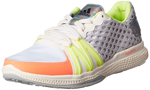Preisvergleich Produktbild adidas StellaSport Damen Trainingsschuhe Ively Core Black / Flash Orange / Light Flash Yellow 41 1 / 3