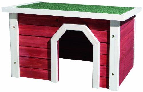 Trixie natura Kleintierhaus rot/weiß