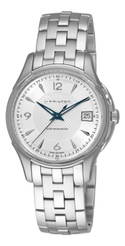 Hamilton H32455157 Women's JazzMaster Viewmatic Silver Dial Stainless Steel Automatic Watch