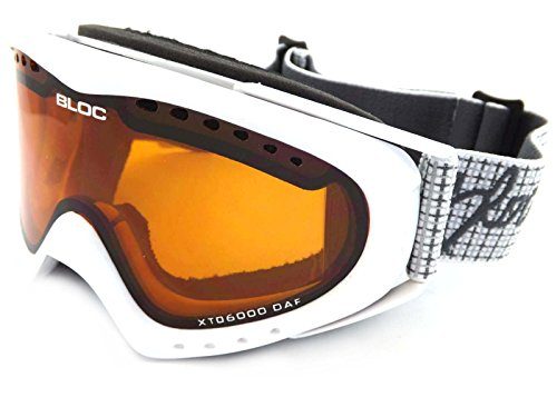 Bloc Goggles UT06N weiss Utopia Visor Goggles Lens Category 2