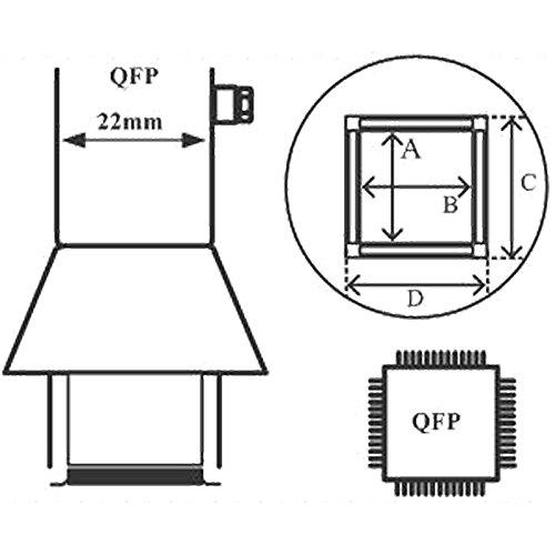 aoyue-1128-heissluftduse-qfp-14-x-20-mm-fur-heissluftlotstationen