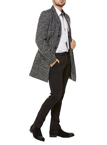 Selected - Manteau Selected Giovanni Noir