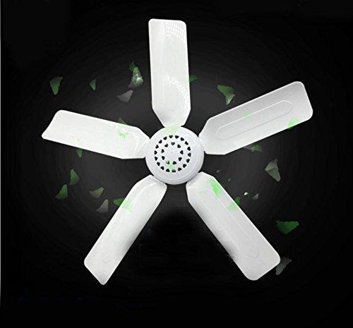 Miaoge Kleine Deckenventilator 6 Blätter hängenden Ventilator Moskitonetz Lüfter- Student Wohnheim Lüfter speichern Mute Deckenventilator