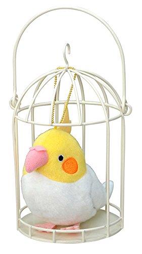 soft-and-downy-basket-mascot-soft-stuff-plush-doll-ball-chain-cockatiel