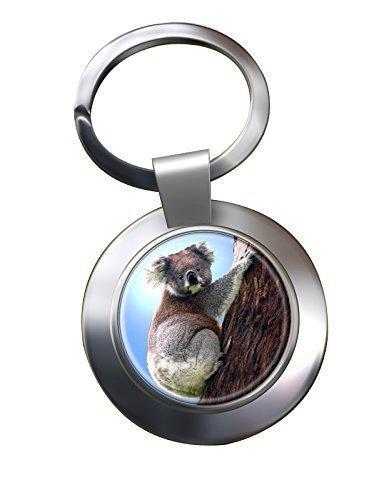 Koala Portachiavi Cromato