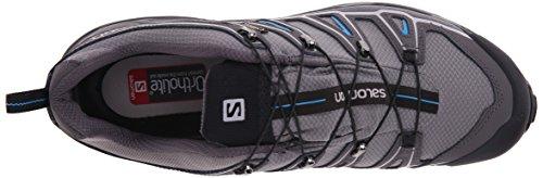 Salomon X Ultra II GTX Herren Trekking- & Wanderhalbschuhe Grau (Detroit/Autobahn/Methyl  Blue)