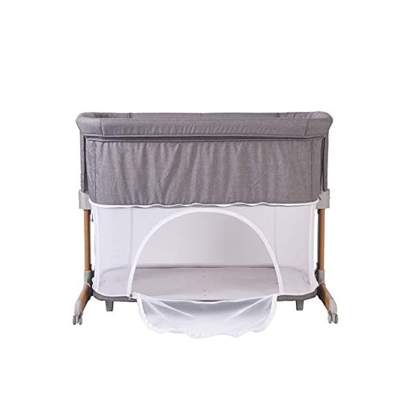 Kite Gold Co - Nebula  Adjustable height positions Converts into a stylish playpen Incline feature for help with digestion, reflux and colds 3