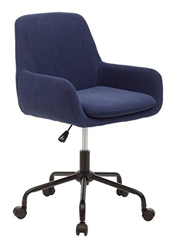 My_office HEMI Sediolina, Poliuretano, Blu, 55x55x92 cm