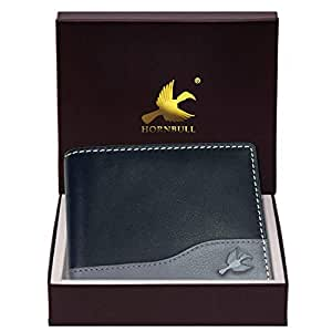 Hornbull Buttler Black Mens Leather Wallet – Premium Quality Leather Wallet for Mens & RFID Blocking Genuine Leather Mens Wallet
