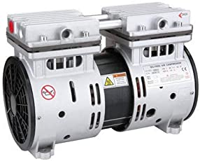 STARQ ST750 Watts -1 Hp Motor Air Compressor Head with Capacitor, Base Rubber and Inlet Muffler