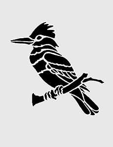 Oiseaux Collection 2Aérographe véritable, Art Mural, peinture, Pochoir réutilisable en Mylar A4125microns