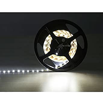 LE Flexible LED Strips, Daylight White, LED Ribbon Light, Non Waterproof, Ultimate DIY Lighting, Pack of 8ft