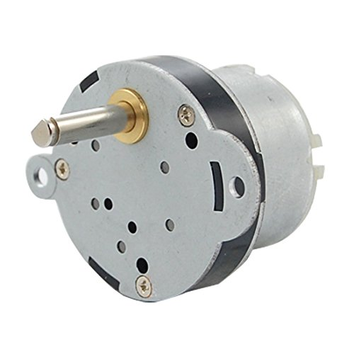 Kcopo Drehmoment Elektro Motor DC Getriebe Motor DC 12 V 2 U Hohes 40 mm RC Model Spielzeug Mikro Motor mit Hohem