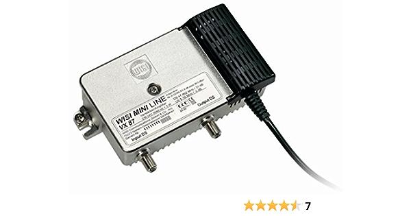 Wisi 16346 Vx 87 Hausanschlussverstärker 31 Db Silber Elektronik