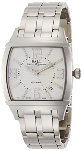 [Ball Watch] BALLWATCH watch conductor Tran Sen Dent stainless steel Automatic White Dial 50m waterproof NM2068D-SAJ-WH Men's parallel import goods]