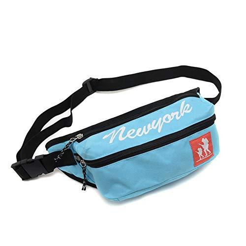 Herrentasche Herren Taschen Outdoor Brust Tasche Anti-Diebstahl-Wallet Mode Schulter Messenger Bag, L -