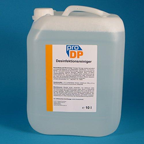 "10l Kanister Pro DP Profi Desinfektionsreiniger Flächendesinfektion Desinfektionsmittel ""Made in Germany"""
