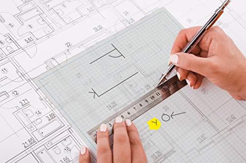 Mm Block (A4, 5mm Grid-Tracing-Papier-Pad, 90 g / m², 40 Blatt, Professional Range)