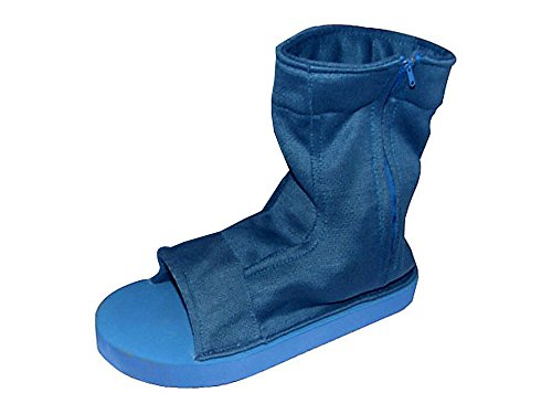 De-Cos Cosplay Costume Accessory Male Blue Ninja Shoes Sandals For Chunin V1